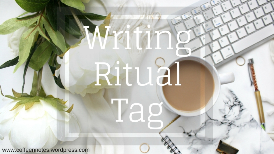 Writing Ritual Tag, Coffee n' Notes