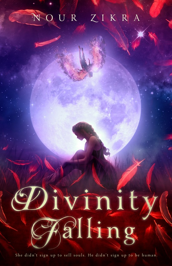 Divinity Falling Cover, Coffee n' Notes, Nour Zikra
